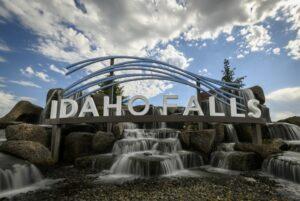Idaho Falls City Sign