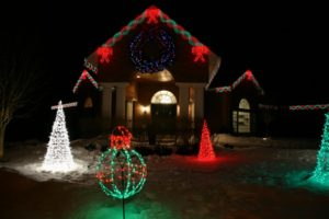 Christmas Lighting In Idaho Falls