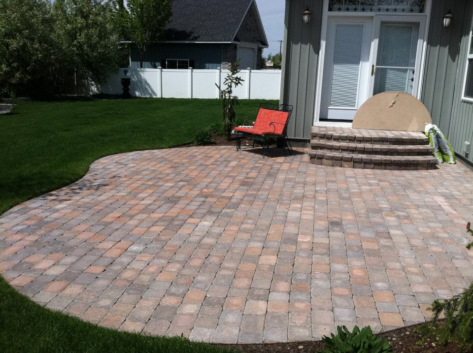 paver patios in Idaho Falls