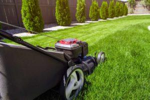 Mowing Lawn - lawn care idaho falls