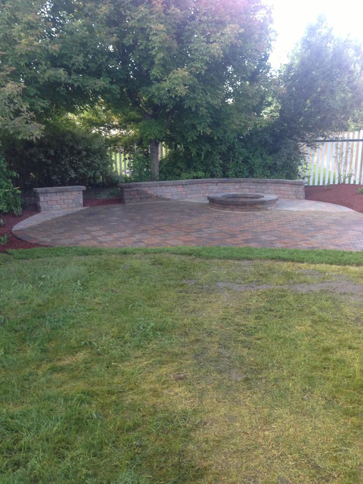 Idaho Falls outdoor firepit