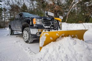 snow removal truck in Idaho Falls