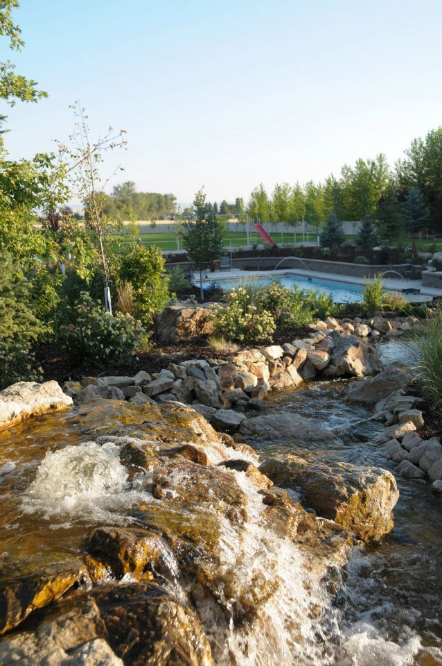 Idaho Falls water features