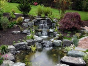 water features in Idaho Falls landscaping