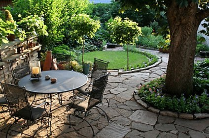 Yard With Great Landscape Design And Construction